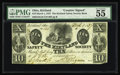 Obsoletes By State:Ohio, Kirtland, OH- The Kirtland Safety Society Bank $10 Mar. 1, 1837 G10Rust 8 Wolka 1424-12. The main signatures on this note a...