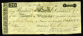 Obsoletes By State:Virginia, Richmond, VA- Bank of Virginia $20 Mar. 6, 1810 Haxby UNL Jones BR130-60. A great early Virginia rarity which is unlisted in...