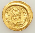 Ancients:Byzantine, Ancients: Justinian I the Great (AD 527-565). AV solidus (4.38 gm)....