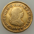 Colombia, Colombia: Charles III gold Escudo 1767 Pn-J Very Fine,...