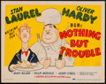 """Movie Posters:Comedy, Nothing but Trouble (MGM, 1944). Title Lobby Card (11"""" X 14"""").Comedy.. ..."""