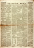"""Miscellaneous:Newspaper, [Slavery - Uncle Tom's Cabin]. Newspaper: New-York Daily Tribune. Eight pages, 15.5"""" x 21"""", November..."""