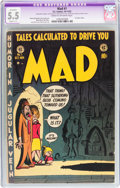 Golden Age (1938-1955):Humor, Mad #1 (EC, 1952) CGC Apparent FN- 5.5 Slight (C-1) Cream to off-white pages....