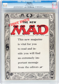 Mad #24 (EC, 1955) CGC VF 8.0 Off-white to white pages