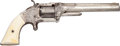 Handguns:Single Action Revolver, Engraved and Inscribed Smith & Wesson Model 2 Single ActionRevolver....