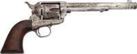 Engraved Colt Single Action Army Revolver Inscribed to Rodeo Queen Lulu Parr