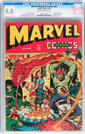 Golden Age (1938-1955):Superhero, Marvel Mystery Comics #50 (Timely, 1943) CGC VG 4.0 Cream to off-white pages....