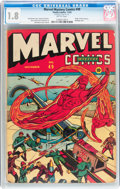 Golden Age (1938-1955):Superhero, Marvel Mystery Comics #49 (Timely, 1943) CGC GD- 1.8 Brittle pages....
