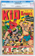 Golden Age (1938-1955):Superhero, Kid Komics #2 (Timely, 1943) CGC VG+ 4.5 Cream to off-white pages....