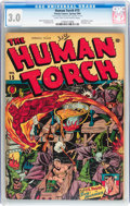 Golden Age (1938-1955):Superhero, The Human Torch #15 (Timely, 1944) CGC GD/VG 3.0 Light tan to off-white pages....
