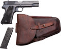 Handguns:Semiautomatic Pistol, Polish Eagle Radom VIS wz 35 Semi-Automatic Pistol with Leather Holster....
