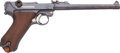 Handguns:Semiautomatic Pistol, German DWM 1917 Dated Artillery Luger Semi-Automatic Pistol....