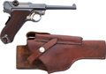 Handguns:Semiautomatic Pistol, DWM American Eagle Model Luger Semi-Automatic Pistol with Stoeger Holster....