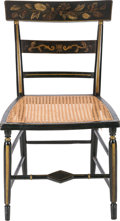 Military & Patriotic:Civil War, Historic Chair Attributed to the Robert E. Lee Family, Given by Mary Custis Lee to Salena Gray, Her Devoted Slave....