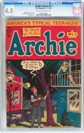 Golden Age (1938-1955):Humor, Archie Comics #17 (Archie, 1945) CGC VG+ 4.5 Cream to off-white pages....