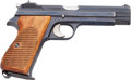 Handguns:Semiautomatic Pistol, Swiss Army Sig Arms AG Model P210-1 Semi-Automatic Pistol....