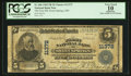 National Bank Notes:Missouri, Sweet Springs, MO - $5 1902 Plain Back Fr. 606 The First NB Ch. #11372. ...