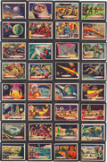 Memorabilia:Trading Cards, Target: Moon Trading Cards Complete Set (Topps, 1958)....