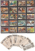 Memorabilia:Trading Cards, Civil War News Trading Cards (Topps, 1962)....