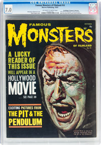 Famous Monsters of Filmland #14 (Warren, 1961) CGC FN/VF 7.0 Off-white to white pages