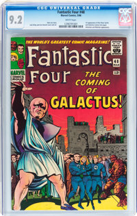 Fantastic Four #48 (Marvel, 1966) CGC NM- 9.2 White pages