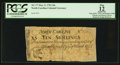 Colonial Notes:North Carolina, North Carolina March 9, 1754 10s PCGS Apparent Fine 12.. ...