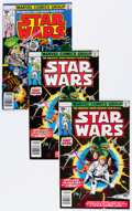 Bronze Age (1970-1979):Science Fiction, Star Wars Group (Marvel, 1977-78) Condition: Average FN+.... (Total: 10 Comic Books)