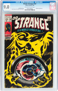 Silver Age (1956-1969):Superhero, Doctor Strange #181 (Marvel, 1969) CGC VF/NM 9.0 Off-white to white pages....