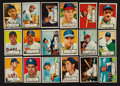 Baseball Cards:Lots, 1952 Topps Baseball Low Number Collection (18). ...