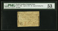 Colonial Notes:North Carolina, North Carolina April 2, 1776 $6 Squirrel eating a nut PMG About Uncirculated 53.. ...