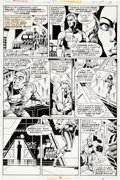 Original Comic Art:Panel Pages, Paul Gulacy and Pablo Marcos Master of Kung Fu #49 Page 10Original Art (Marvel, 1977)....