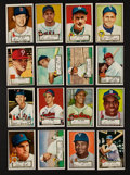 Baseball Cards:Lots, 1952 Topps Baseball Low Number Collection (16). ...