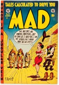 Golden Age (1938-1955):Humor, Mad #9 (EC, 1954) Condition: Apparent VF-....