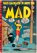 Golden Age (1938-1955):Humor, Mad #4 (EC, 1953) Condition: Apparent FN/VF....