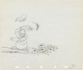 Animation Art:Production Drawing, Moose Hunters Donald Duck Production Drawing Animation Art(Disney, 1937). ...