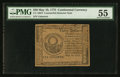 Colonial Notes:Continental Congress Issues, Continental Currency May 10, 1775 $30 Counterfeit Detector PMGAbout Uncirculated 55.. ...