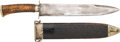 """Military & Patriotic:Civil War, Bowie Knife Marked """"Thomas Griswold New Orleans""""...."""