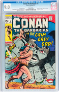 Bronze Age (1970-1979):Adventure, Conan the Barbarian #3 (Marvel, 1971) CGC VF/NM 9.0 White pages....