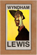 Miscellaneous:Ephemera, [Wyndham Lewis]. Publisher's Prospectus for BLAST 3 and ABibliography of the Writings of Wyndham Lewis....
