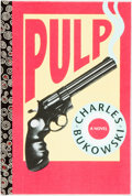 Books:Literature 1900-up, [Featured Lot]. Charles Bukowski. SIGNED/LIMITED. Pulp.Santa Rosa: Black Sparrow Press, 1994. Limited edition. Octa...