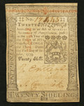 Colonial Notes:Pennsylvania, Pennsylvania October 1, 1773 20s About New.. ...