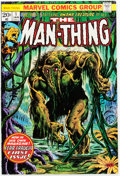 Bronze Age (1970-1979):Horror, Man-Thing #1 (Marvel, 1974) Condition: VF+....