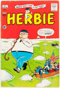Silver Age (1956-1969):Humor, Herbie #1 (ACG, 1964) Condition: VG....