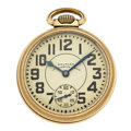 Timepieces:Pocket (post 1900), Waltham 23 Jewel Vanguard Open Face Pocket Watch. ...