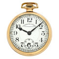 Timepieces:Pocket (post 1900), Waltham Chronometro Supremo 21 Jewel Pocket Watch. ...