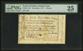 Colonial Notes:North Carolina, North Carolina December, 1771 £5 PMG Very Fine 25.. ...
