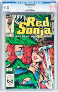 Modern Age (1980-Present):Miscellaneous, Red Sonja V3#4 (Marvel, 1984) CGC NM/MT 9.8 White pages....