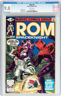 Modern Age (1980-Present):Superhero, Rom #6 (Marvel, 1980) CGC NM/MT 9.8 White pages....