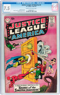 Silver Age (1956-1969):Superhero, Justice League of America #2 (DC, 1961) CGC VF- 7.5 Cream to off-white pages....