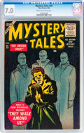 Golden Age (1938-1955):Horror, Mystery Tales #39 (Atlas, 1956) CGC FN/VF 7.0 Cream to off-whitepages....